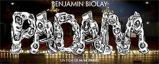 Vidéo moment nouveau clip Benjamin Biolay Padam