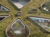 Maison troglodyte forme pétales