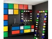 salle bains façon Rubik's Cube