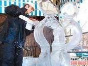Nouvelles sculptures glace