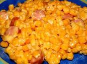 Poêlée maïs fromage