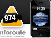 Inforoute iphone, nouvelle version