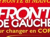 Front Gauche Tournées Ajaccio Bastia demain mercredi.
