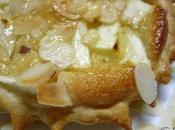 Tartelettes feuilletées pomme crème d'amande