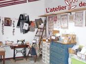Ouverture l'atelier Flora Pré-inscription cours broderie tradionnelle avec Christel, chat dans l'aiguille