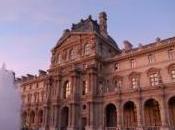 Chatel Mitterrand rendent visite élèves stage l'École Louvre