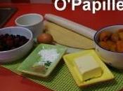 Tarte abricots, framboises mûres