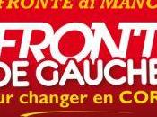 Front Gauche;: Conférence presse demain matin Bastia, programme visites contact population.