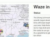 navigation gratuite portable arrive France: Waze