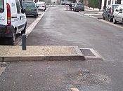Réparation d'une chicane Irène Joliot Curie Romainville