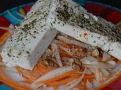 Salade sucrée-salée sérac grillé