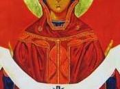 icône pèlerine pour l'année sacerdotale