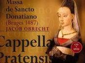 Superbe messe Saint-Donatien écrite Jacob Obrecht