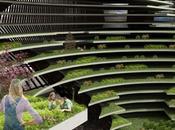 concept construction écologique ferme ville