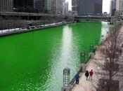 Donald's -Shamrock Shake Chicago River