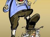 Tintin aurait comme besoin d'un dératiseur pour Moulinsart