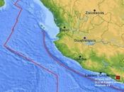 séisme magnitude frappe région Guerrero, Mexique.