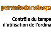 Parents dans parages.com Gérer temps passé devant ordinateur