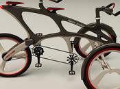 Twin Trike, tandem tricycle high-tech Cikaric Dragan