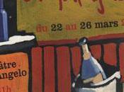 "Unita teatrale présente aria Famiglia"" jusqu'à demain théâtre Angelo."