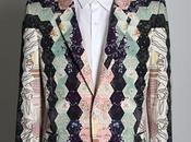 Alexander McQueen Patchwork Print Jacket