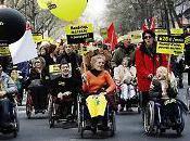 handicapés dans aujourd'hui samedi contre pauvreté