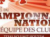 Communiqué Club Clubs Poker Champion France Equipe