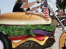 hamburgers toutes formes