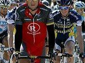 Tour Flandres L'équipe RadioShack avec Armstrong