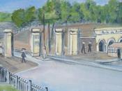nouvelles Portes Lille. nouveaux remparts après l'agrandissement 1858.
