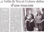VELLE VOCAL COLORS concert FRANCE