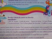 """gâteau yaourt chocolat"""" Rainbow Dash"""