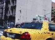 New-York était envahie pixels
