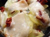 Cassolettes pommes terre gorgonzola tomates sechees