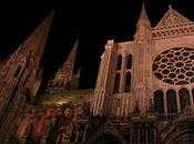 Chartres night