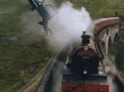 Poudlard express transport ferroviaire d'exception
