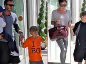 famille Beckham sortie Beverly Hills