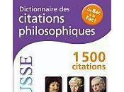 Dictionnaire citations philosophiques