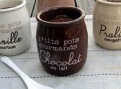 ptits pots gourmands crème chocolat façon Danette...vive régression!