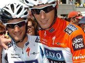 Giro 2010 L'équipe Saxo Bank sans Schleck
