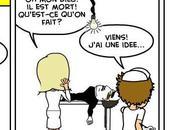 l'infirmier: Humour noir