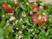 Taboulé & Manakish Liban dans cuisine