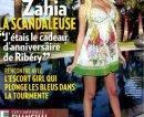 Scoop Zahia Dehar 000€ pour couverture