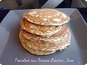 Delicious pancakes flocons d'avoine!!