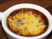 Crémes brûlées parmesan, tomates séchées basilic