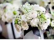 décoration mariage noir blanc Oui, veux
