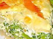 Tarte Brocolis Saumon fumé (par Anne-Laure)