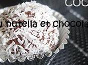 Recette boules coco nutella chocolat