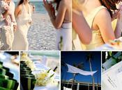 Mariage vert bambou pour mariage mer: c'est compatible!