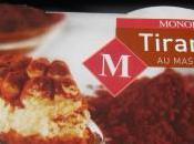 Tiramisu mascarpone Monoprix